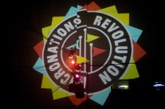 Micronations Revolution-VJ by David Benqué- photo by Ludovic des Cognets